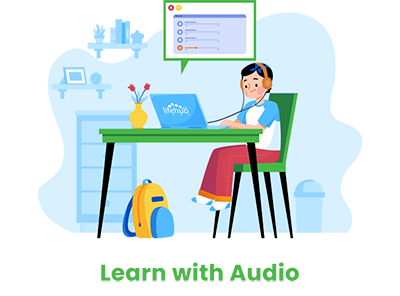 Learn with audio