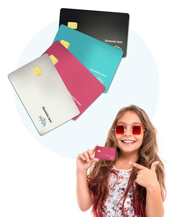Lifehub visa debit card
